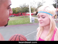 Hard fuck pleasure after basketball game fun