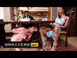 Stunning sexy black girl Kira Noir is pleasuring hardcore interracial anal fuck